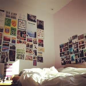 Teenage Bedroom Layout by Photo Wall Collage College Dorm Picture Idea Friends