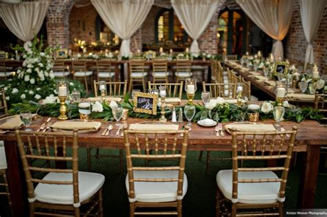 event and wedding rentals of chiavari chairs