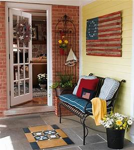 Bright Porch and Patio Decorating Ideas Image 7