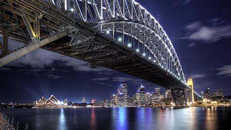 Through Arch Bridge In Sydney