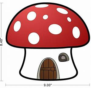 The gallery for --> Smurf Mushroom Clipart