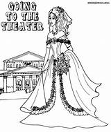 Theater Coloring Pages sketch template