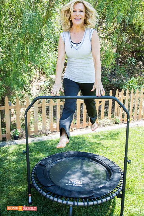 kym douglas features jumpsport fitness trampoline