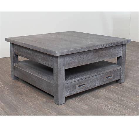 canape petit prix table basse carree chene massif 3822