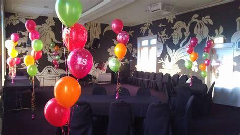 decoration anniversaire  ans ballons