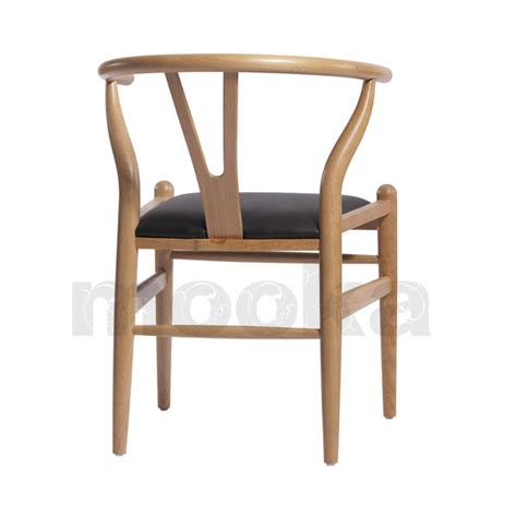 hans j wegner style wishbone chair mooka modern furniture