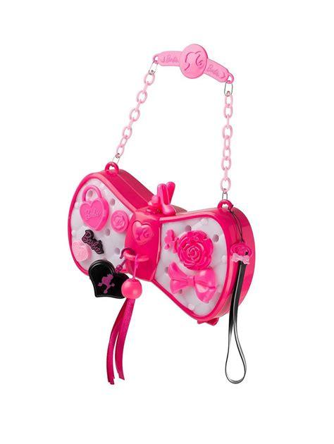 purse lights up inside barbie colour change light up glam bag handbag purse