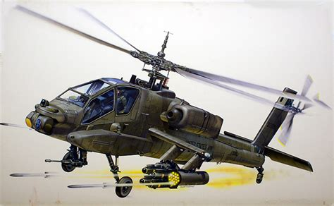 boeing apache ah  attack helicopter  keith fretwell