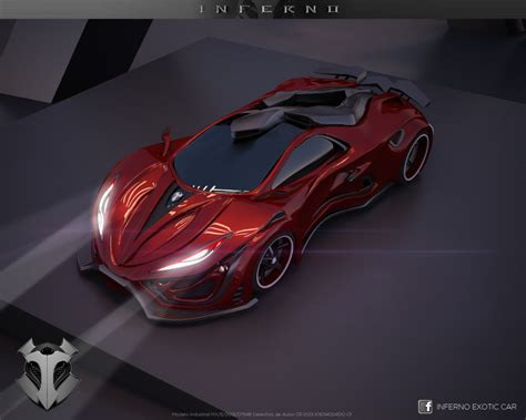Inferno Exotic Car On Behance