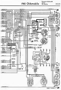Wiring Diagram For 1965 Oldsmobile Dynamic  U0026 Delta 88