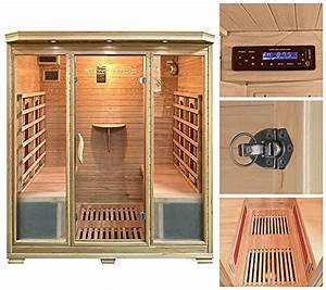 Sauna Für 2 Personen : infrarotkabinen zubeh r infrarotsauna f r zuhause ~ Orissabook.com Haus und Dekorationen