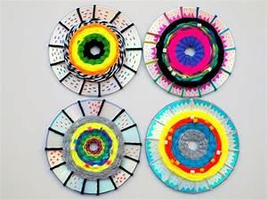Mit Cds Basteln : rundweben lernen auf alten cds vs werken pinterest basteln alte cds und basteln mit cds ~ Frokenaadalensverden.com Haus und Dekorationen
