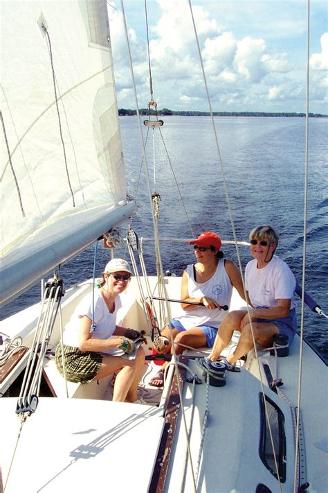 Sailing Boat Expressions by Women S Sailing Network Celebrates 20 Years The Resident