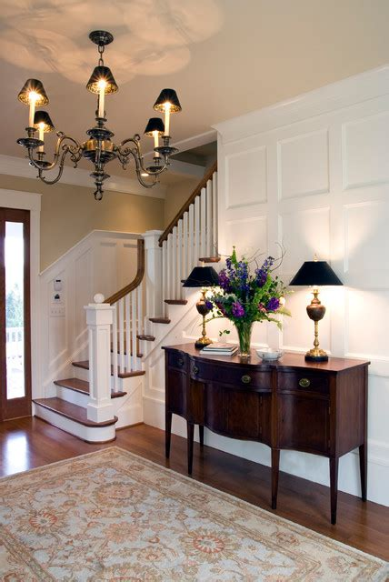remarkable foyer designs  traditional style