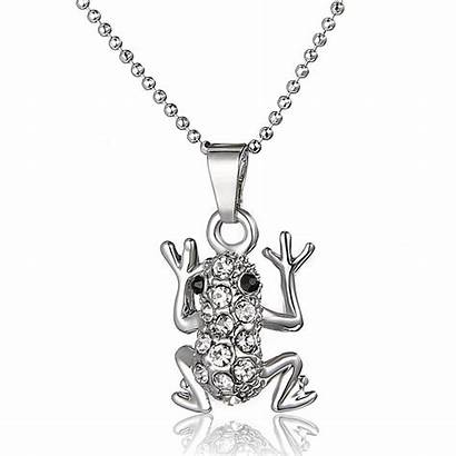 Frog Jewelry Necklaces Pendant Gifts Necklace Memorial