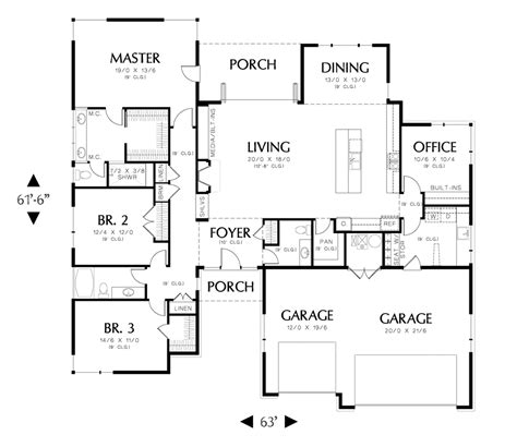 kitchen design layouts house plan 1245 the riverside 1245