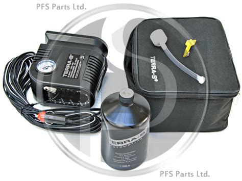 Puncture Repair Kit (tyre Fill) And Compressor