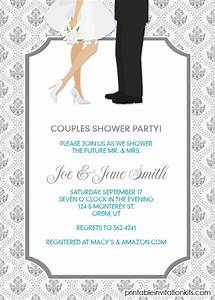 16 best images about bridal shower invitations free on With wedding invitation with photos of couples free