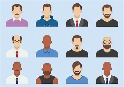 Flat Avatars Avatar Bald Clipart Icon Nice