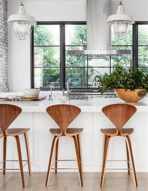 modern kitchen island stools center island vent design ideas