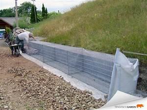 Mur De Soutenement En Gabion : documentation technique gabion tendance gabion le ~ Melissatoandfro.com Idées de Décoration