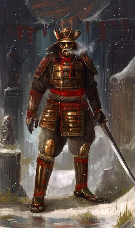 Samurai By Tomedwardsconcepts On Deviantart