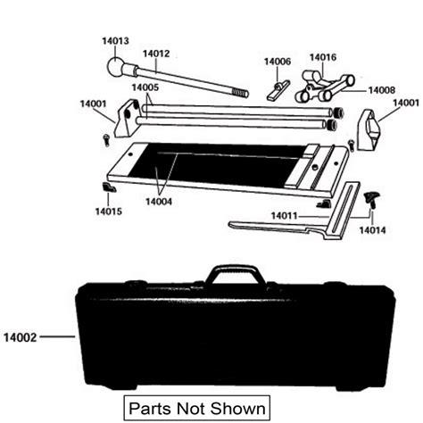 Qep Tile Cutter Spares by 14020 Qep Tile Cutter Repair Parts Qepparts