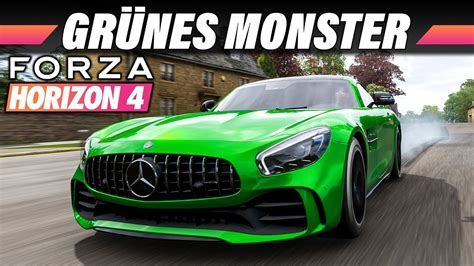 Compared to full exclusive forza work, it's quite a difference. Mercedes AMG GTR - FORZA HORIZON 4 Gameplay German | Lets ...