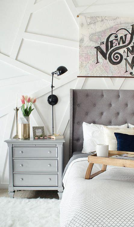 modern glam bedroom bloggers  diy ideas home