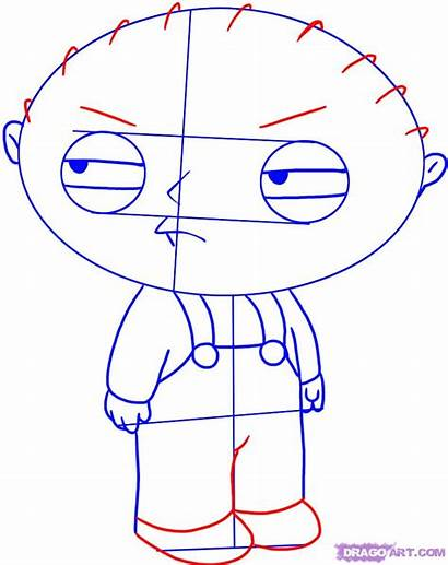 Draw Easy Step Stewie Griffin Stuff Guy