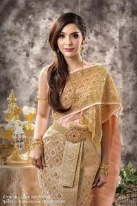 thailand set a new wedding dress thailand for a wedding With thai traditional wedding dress