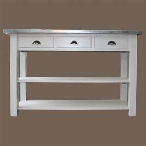 Petite Console Blanche : meuble console blanche maison design ~ Teatrodelosmanantiales.com Idées de Décoration