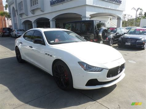 maserati ghibli white 2015 bianco white maserati ghibli s q4 116579372 photo