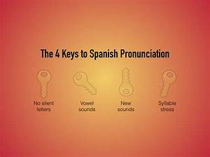 4 Essential Keys To Spanish Pronunciation