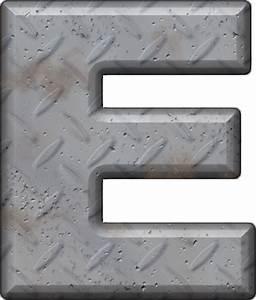 presentation alphabets diamond plate letter e With diamond plate letters