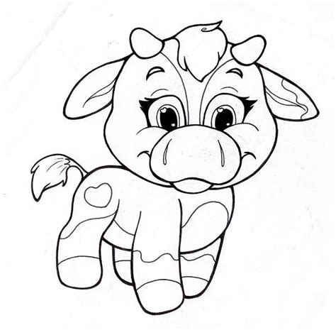 Cute Animal Coloring Pages Printables145