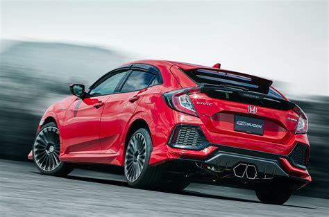 Honda Civic Hatchback Gets Crazy Mugen Exhaust in Japan ...
