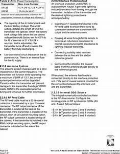 Nautel Maine Vector125 Nautel Vr125 User Manual
