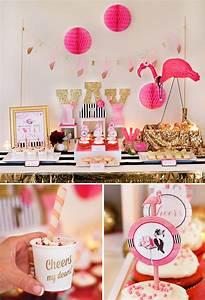 Flamingo Fiesta Girls Night In {Part 2: Crafting