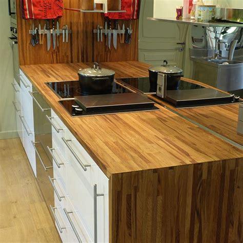 plan de travail cuisine chene massif plan de travail chêne brun massif français choix 26 32 38mm