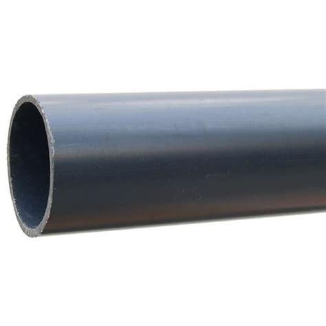 pvc  druckrohr grau  bar von  mm  mm
