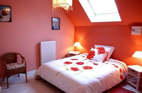 decorating ideas  small bedrooms  orange wall color decolovernet