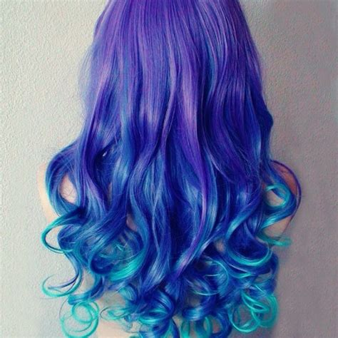 Hot Blue Hair Looks And Ideas With 613a White Blonde