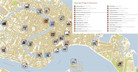 Carte Detaillee Des Monuments De carte et plan de venise tout pour organiser au mieux