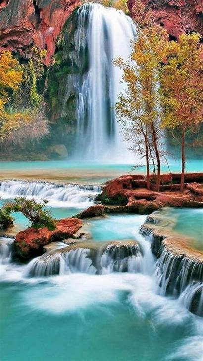 Spectacular Nature Widescreen Waterfalls Mobile Wallpapers