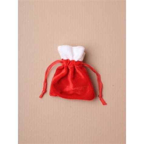 christmas sack red velvet christmas santa sack