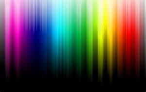 Minimalistic, Multicolor, Rainbows, Black, Background