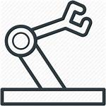 Icon Equipment Industrial Robot Arm Hand Icons