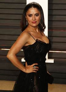 Salma Hayek Picture 323 - 2017 Vanity Fair Oscar Party ...