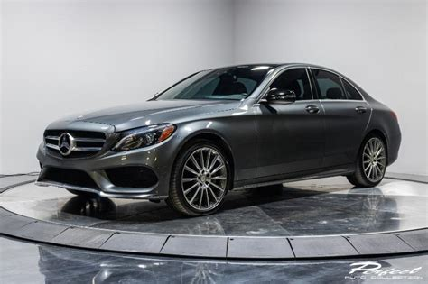 The w205 was preceded by the w204. Used 2017 Mercedes-Benz C-Class C 300 4MATIC For Sale ($23,993) | Perfect Auto Collection Stock ...